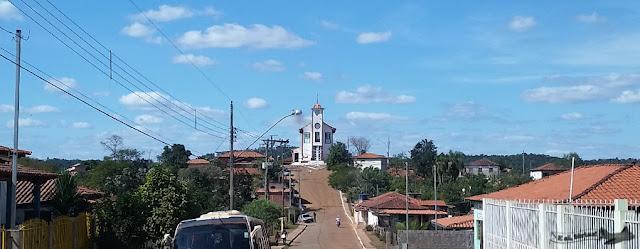 Alvorada de minas, Caminho dos Diamantes, Estrada Real, Igreja Matriz Santo Antônio
