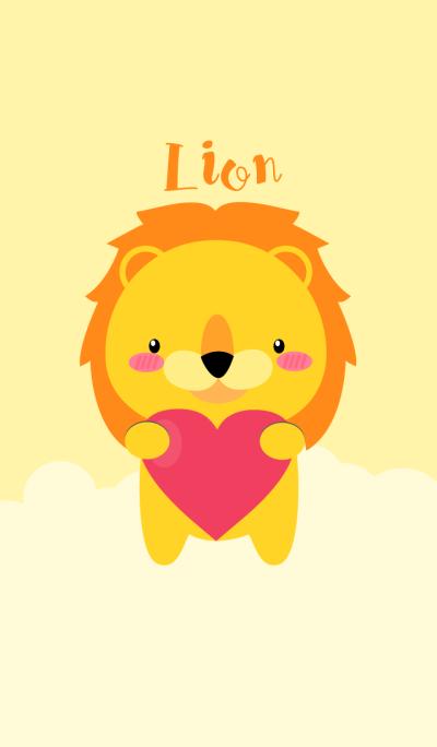 I Love Cute Lion Theme