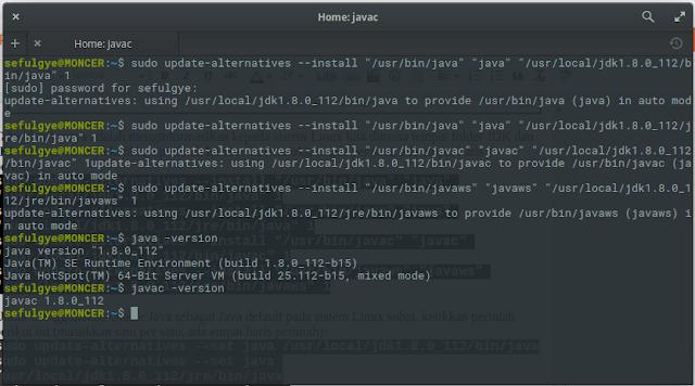 cara mengecek versi java di ubuntu mint elementary cara instal jdk di ubuntu Linux Mint. cara instal java jdk, download java JDK 8 Ubuntu Linux Mint .cara instal java jdk di Ubuntu Linux Mint paling mudah