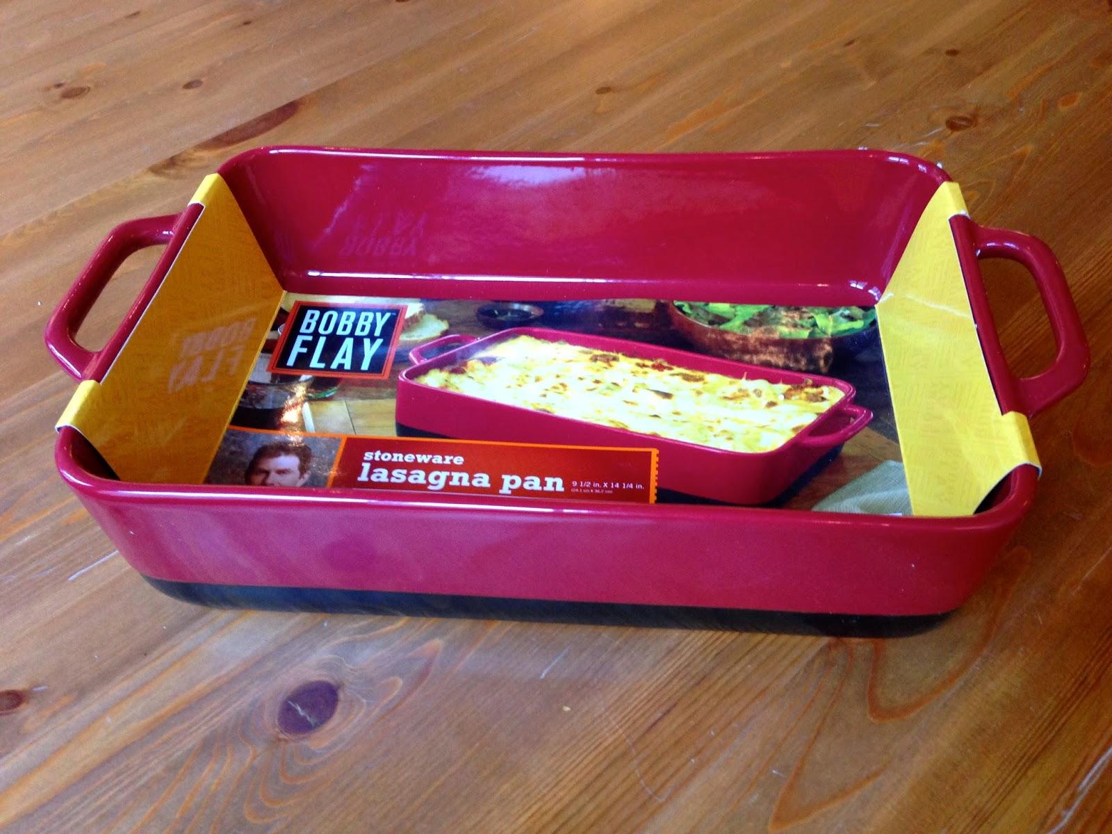 Urban Vegan Bobby Flay Stoneware Lasagna Pan Review