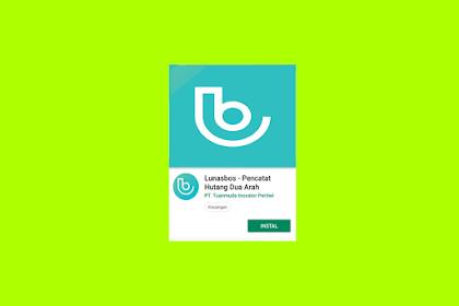 Lunasbos, Aplikasi Pengingat Utang Buat android Dan iPhone