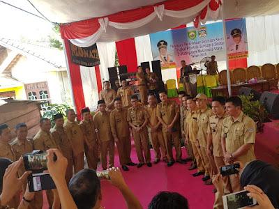 Tim PMD provinsi, hadiri acara di desa Bingin Rupit