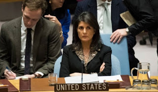 U.S. vetoes UN resolution on 'protecting' Palestinians