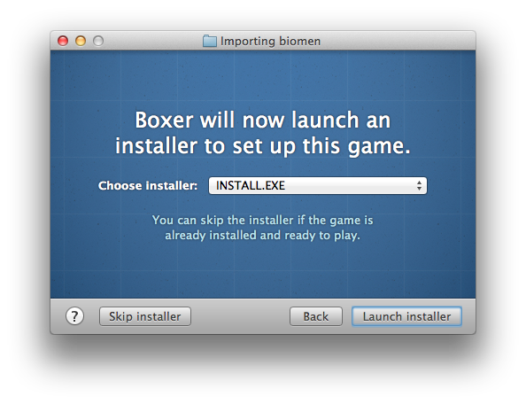 Iron Clad Zone: Boxer - DOS games emulator for Mac OSX