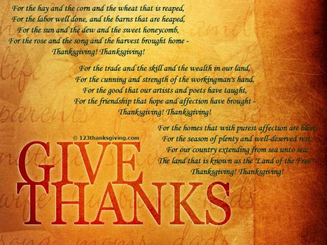 Happy Thanksgiving Poems - Best Thanksgiving Poems For Friends, Family & Kids