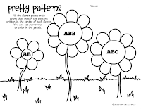 pretty patterns worksheet