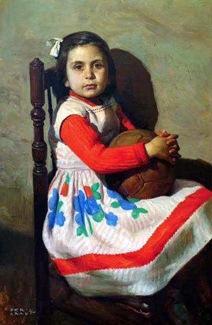 José Peris Aragó, Maestros españoles del retrato, Retratos de Peris Aragó, Pintor Valencianos, Peris Aragó, Pintores españoles, Pintor Peris Aragó
