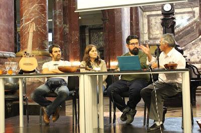 Panel de conversación - luthier Claudio Rojas Caro