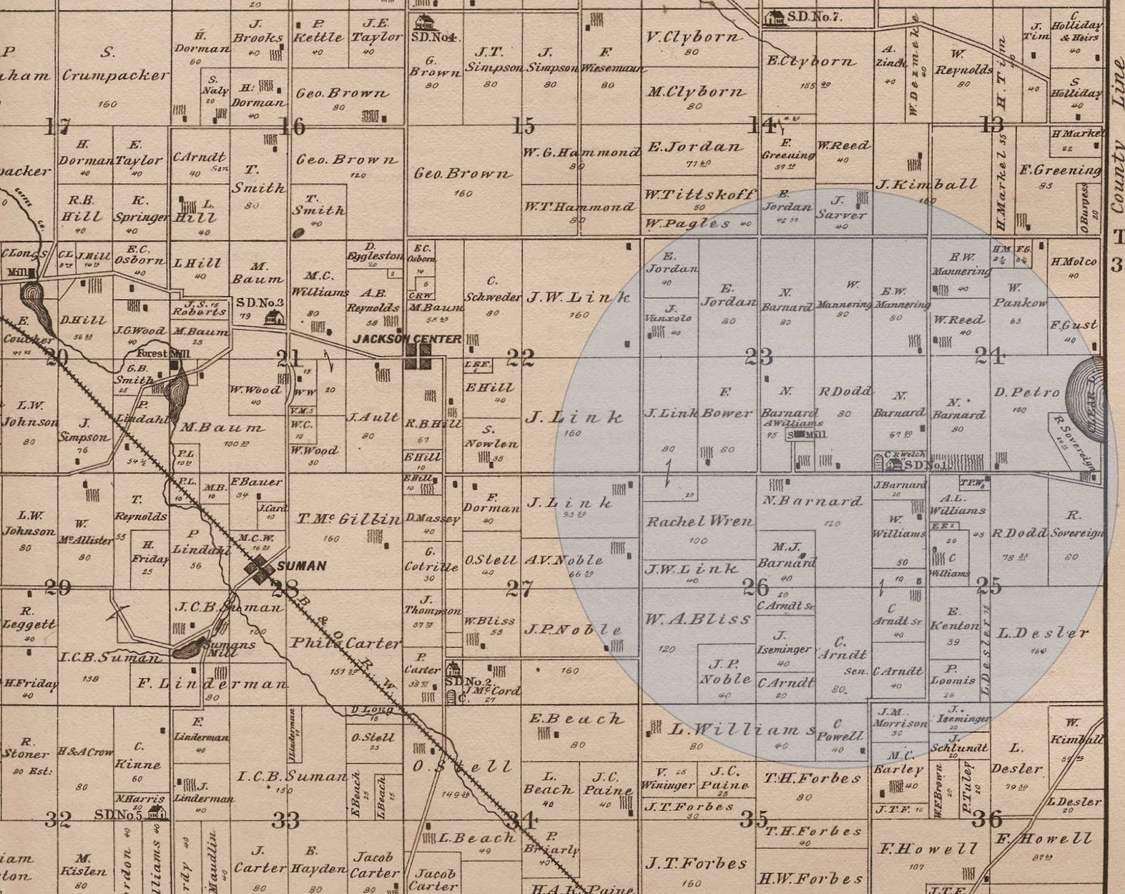 Porter Indiana Map.Porter County S Past An Amateur Historian S Perspective Quakerdom
