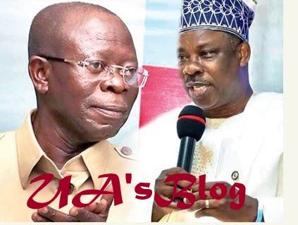 APC Crisis: Amosun Blackmailing Me, Oshiomhole Cries Out