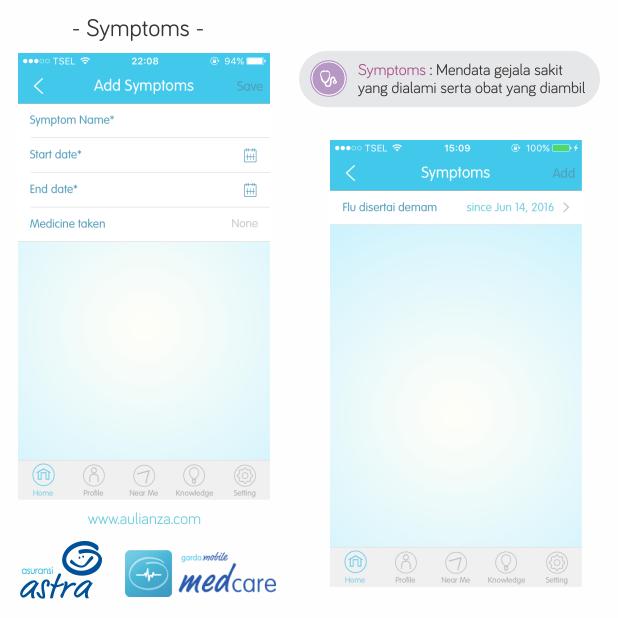 5.%2BSymptoms - Garda Medcare, Aplikasi Yang Dapat Membantu Menjaga Kondisi Kesehatan Anda