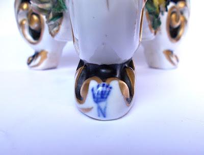 Capodimonte - coppia di candelabri