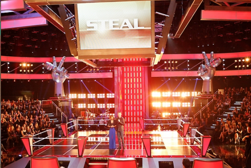 The Voice introduces 'Steal'