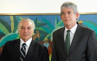 Ricardo e governadores se reúnem com Temer; pauta é equilíbrio fiscal