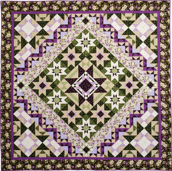 Quilt Patterns With Floral Fabric : Sew in Love {with Fabric}: Ribbon Floral + a Quilt Along!