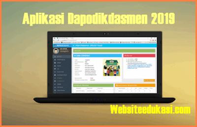 Aplikasi Dapodik 2019.b dan Panduannya