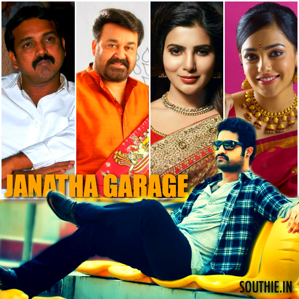 Janatha Garage remuneration for NTR, Mohan Lal and Koratala Siva. Janatha garage, NTR 26, Samantha, Nitya Menon, Mohan lal, Unni Mukundan, Sai Kumar, Koratala Siva, Latest news, images, of Janatha Garage, 2016, latest news, First look, Posters, 2016, latest