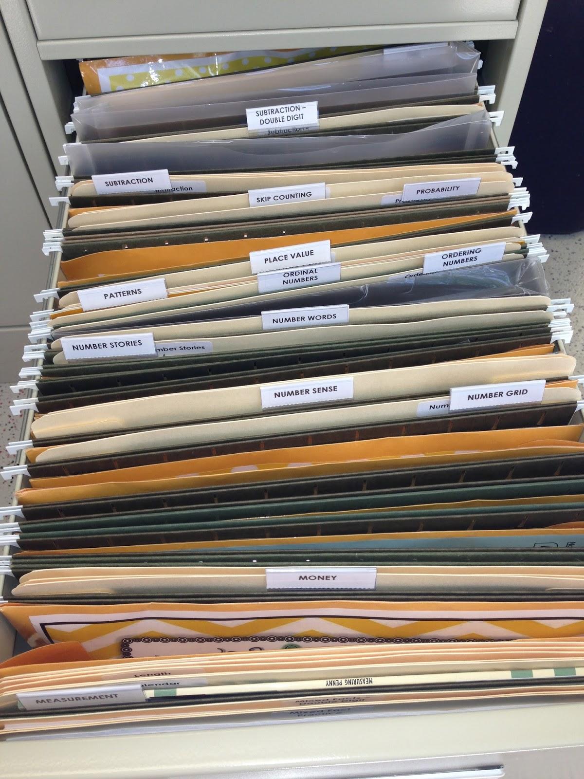 Organize It File Cabinet Love
