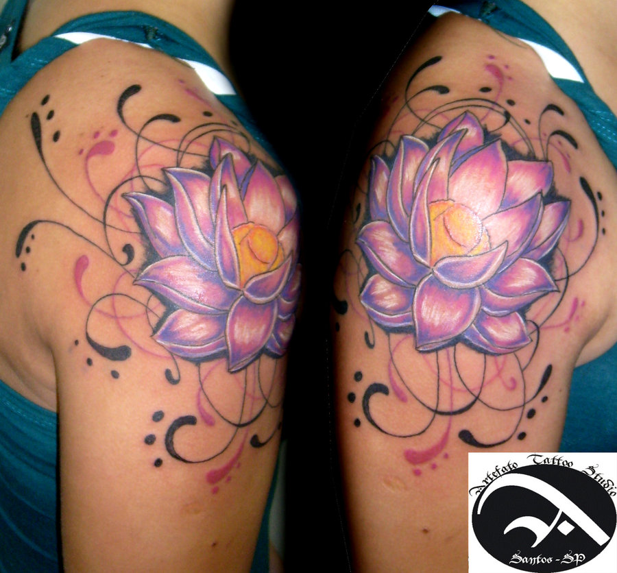Tattoos Change: Lotus Flower Tattoo Pictures