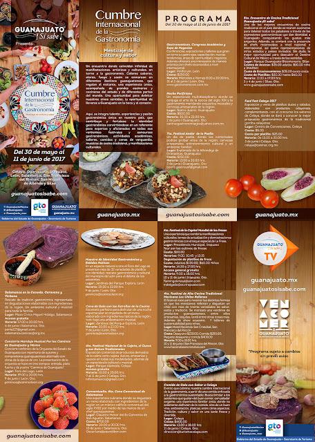 programa cumbre internacional gastronomía 2017