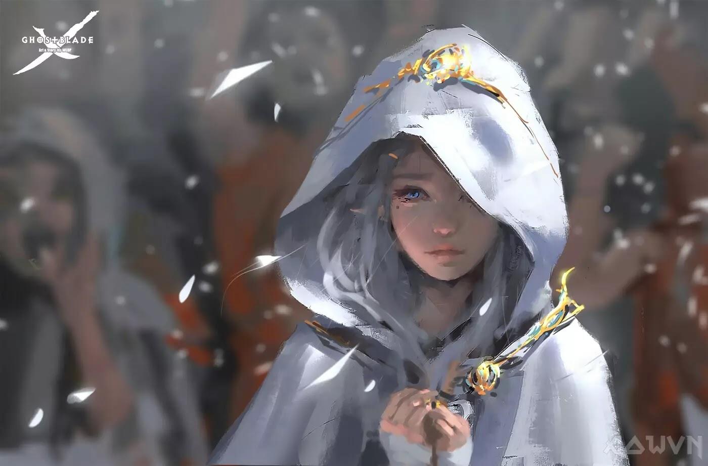32 AowVN.org m - [ Hình Nền ] Anime Cực Đẹp by Wlop | Wallpaper Premium / Update
