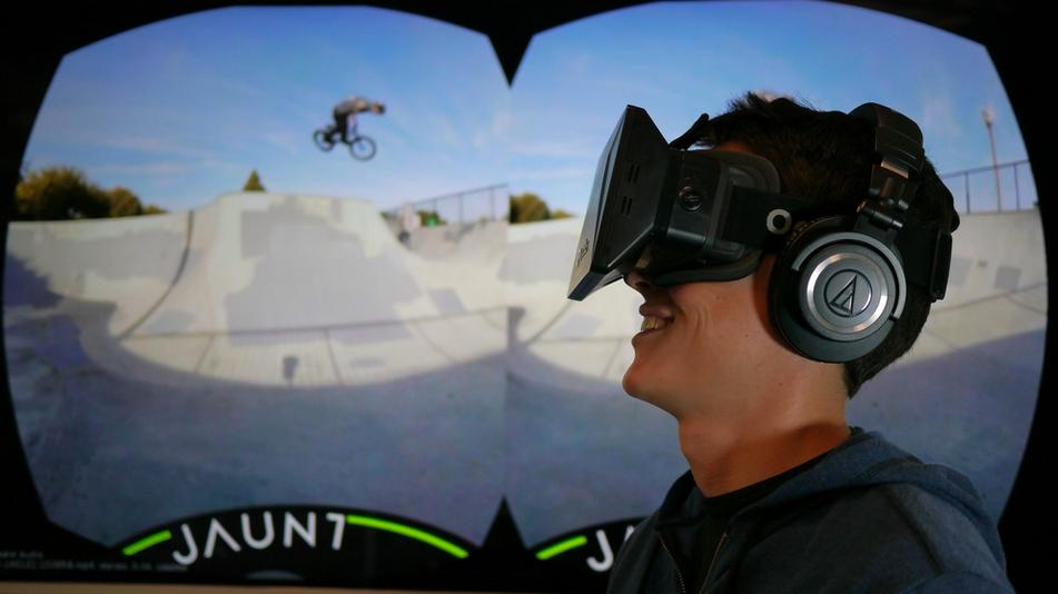 虛擬實境席捲全球!迪士尼助陣,Jaunt募資創新高