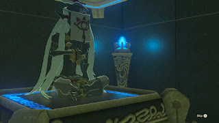 ancient mummy in shrine legend of zelda breath of the wild screenshot