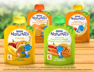 Prueba las Bolsitas de Nestlé Naturnes de fruta