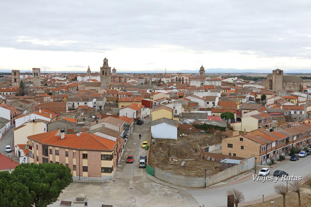 Vistas desde el Castillo de Arévalo, Ávila