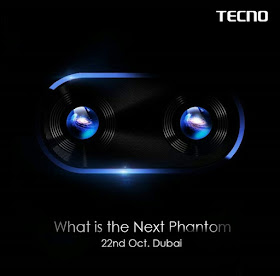 Phantom 7 to be launched by Tecno on 22nd of October