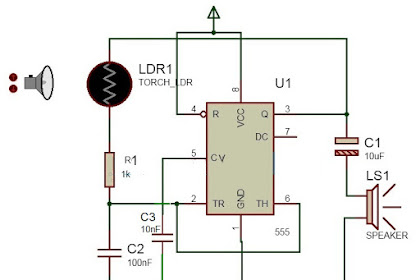 Home Security Alarm Circuit Diagram