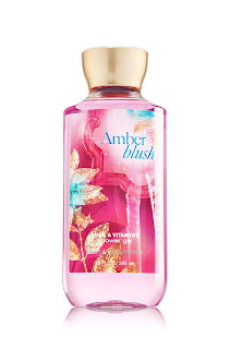 Bath and Body Works Amber Blush Shower Gel from website