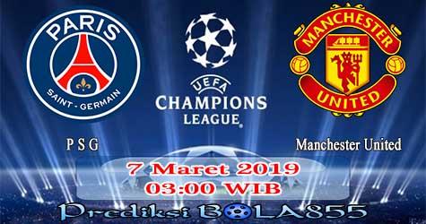 Prediksi Bola855 Paris Saint Germain vs Manchester United 7 Maret 2019