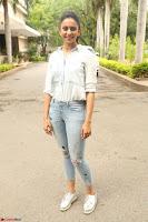 Rakul Preet Singh in Jeans and White Shirt At Jaya Janaki Nayaka le Logo Launch ~  Exclusive 046.JPG