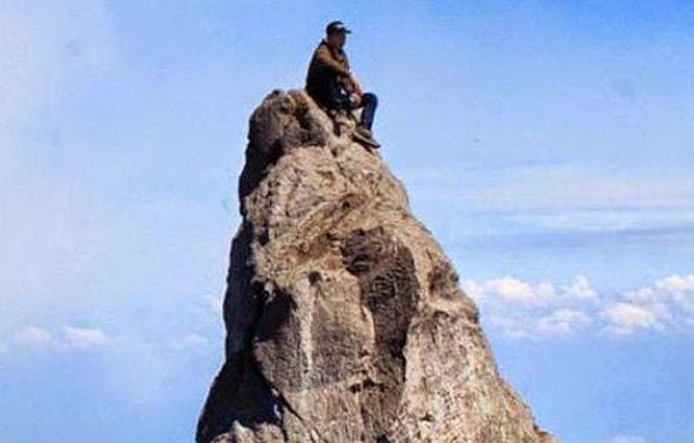 Eri Yunanto Pendaki Terjatuh ke Kawah Merapi