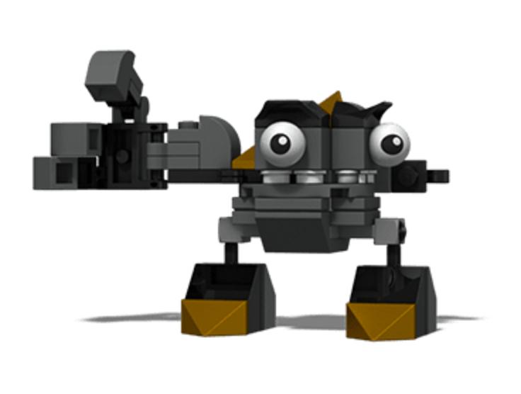 Cartoon Network LEGO 41503 Black KRADEN Mixels Series 1 ...  Cartoon Network...
