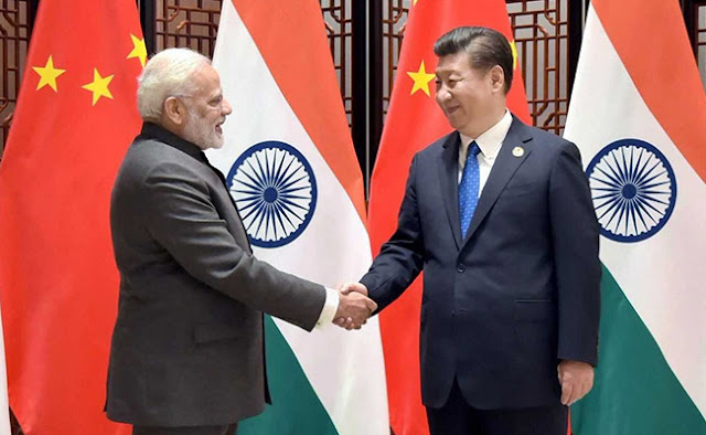 Image Attribute: BRICS Summit 2017: PM Modi and Xi Jinping held bilateral talks in China's Xiamen. (PTI)