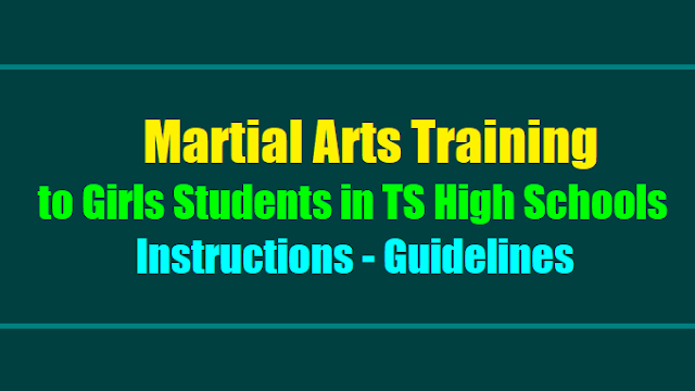 instructions on martial arts training to the girls students in girls high schools in the warangal district,rmsa,deo warangal,Martial Arts Training to Girls Students