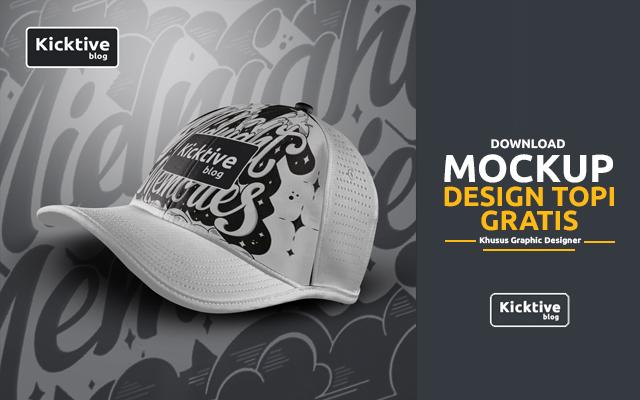 Download Mockup Topi Gratis