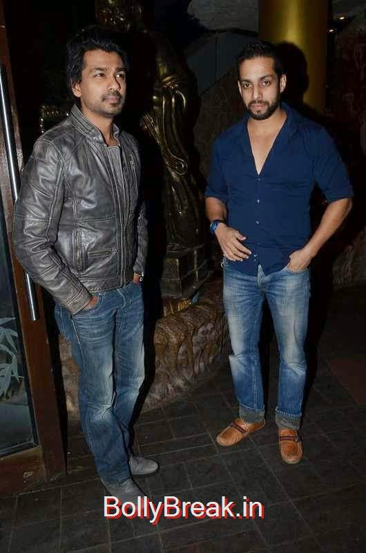 Nikhil Dwivedi and Salil Acharya, Richa Chadda's Birthday Party Hot Images