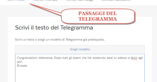 Come Inviare Un Telegramma Da Pc O Da Cellulare Ipcei