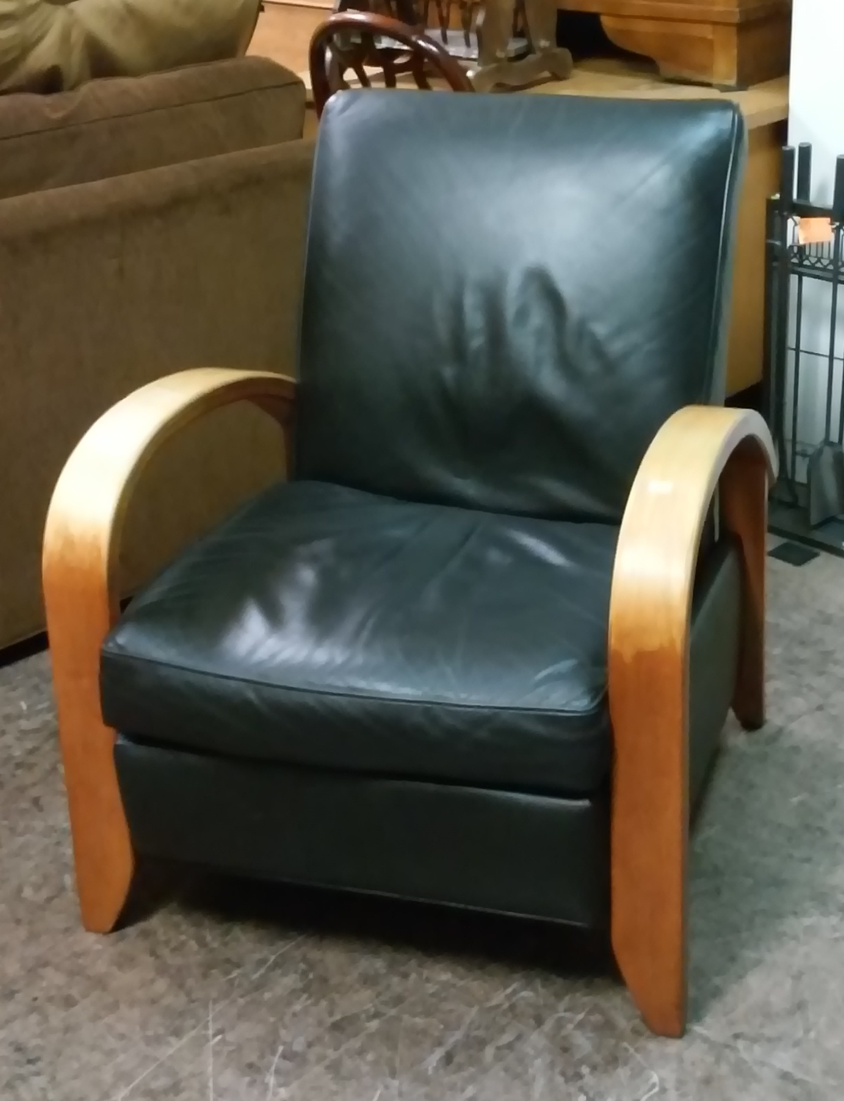 Uhuru Furniture Collectibles Sold Danish Style Recliner 195