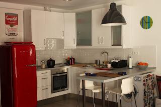 Redistribución espacios en un piso - imágen detalle cocina