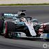 Com bandeirada vermelha no final , Hamilton comanda dobradinha da Mercedes na última sessão de treinos livres do GP da Espanha