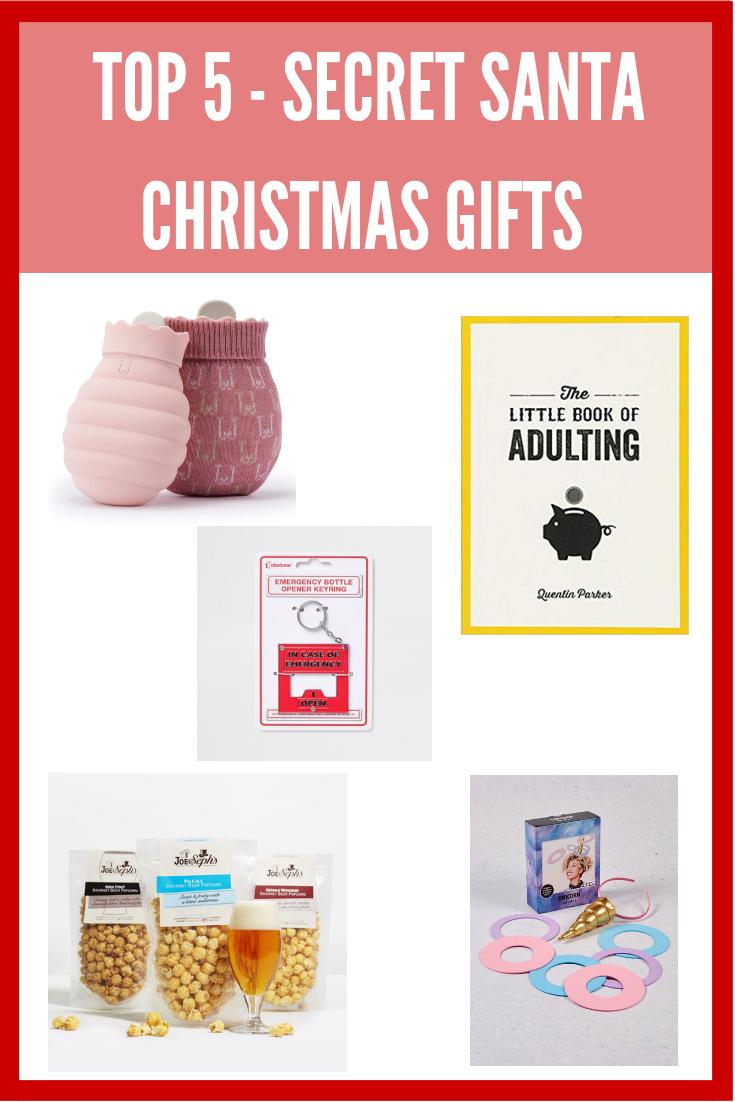 Top 5 - Secret Santa Christmas Gifts | Alice Megan