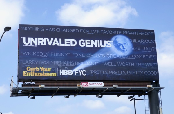 Curb Your Enthusiasm season 9 Emmy FYC billboard
