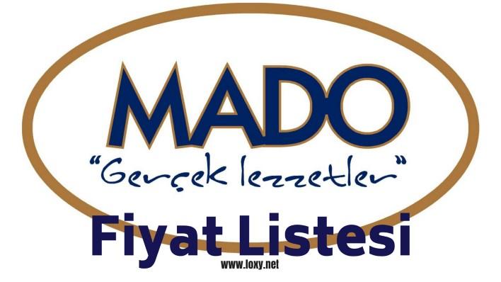 Mado fiyat listesi - menü fiyatları