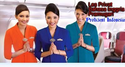 Les Privat Bahasa Inggris Sekolah Pramugari/Pramugara Di Medan [Guru Ke Rumah]