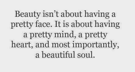 Beauty According To The World Beauty Comes From Within Not Without