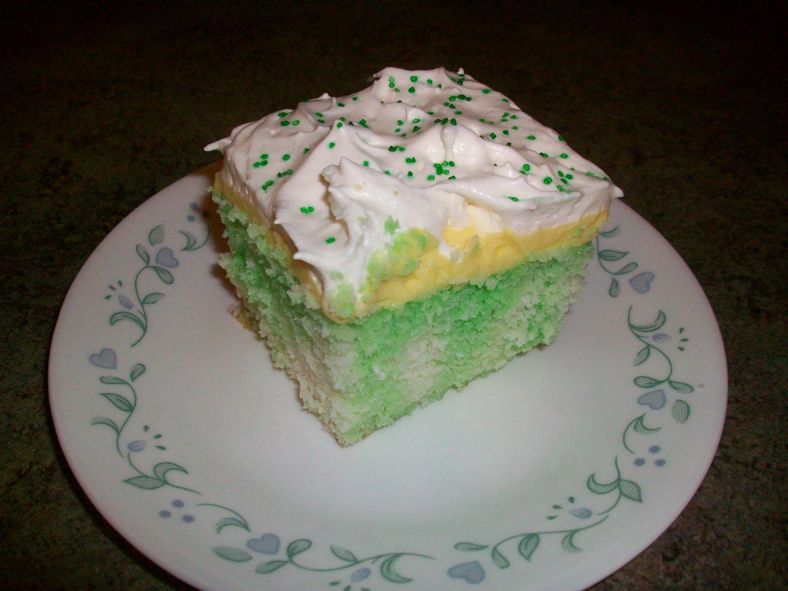 Lemon Jello Cake Recipe Poke: Double The Deliciousness: Lemon Lime Jell-O Poke Cake (Eli